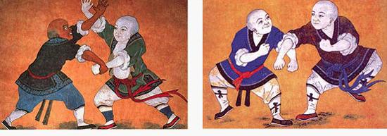 shaolin kung fu luohan
