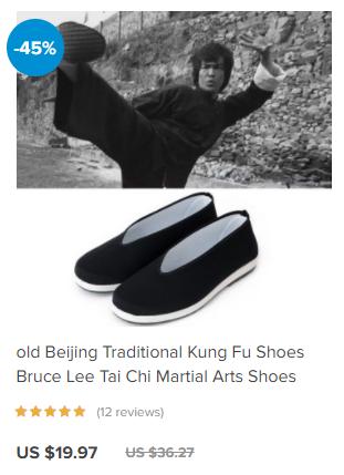 baji kung fu shoes